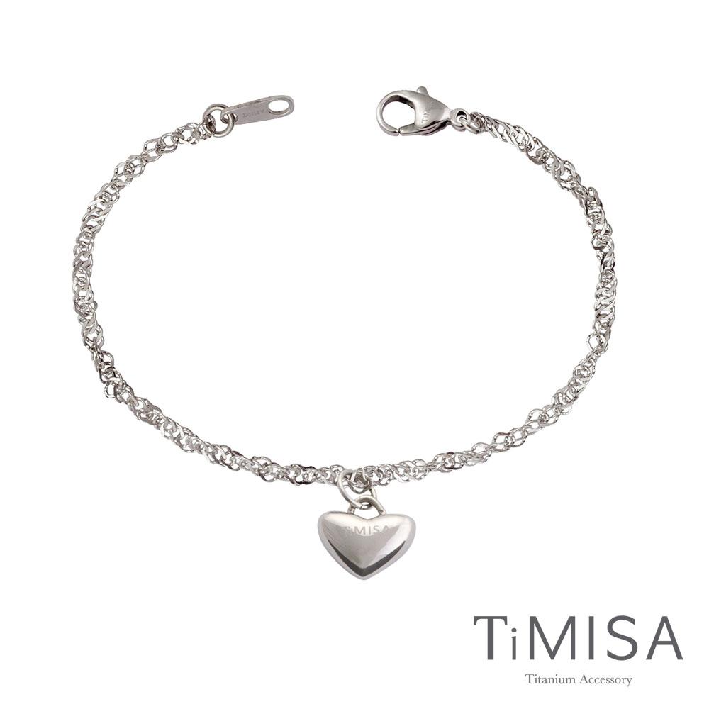 TiMISA《真心愛戀》純鈦手鍊
