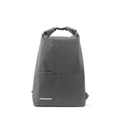 RAWROW-聯名系列-SewingBoundaries捲口後背包-霧灰-RBP912GY