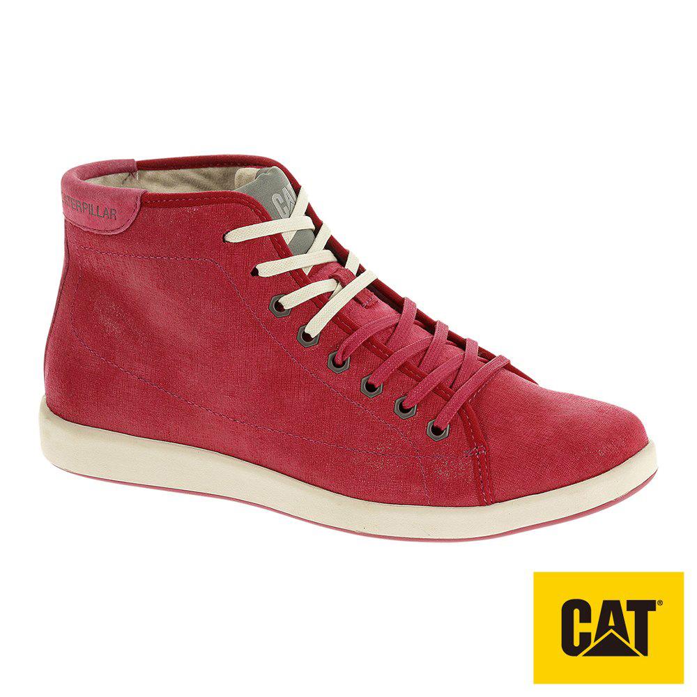 CAT Inscribe 女休閒鞋-紅(307146)