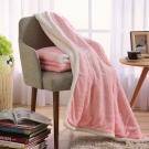 MONTAGUT-玫瑰法蘭絨複合毯