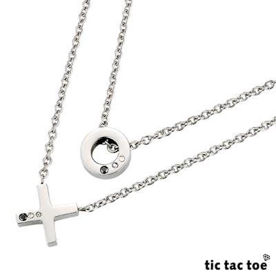 【tic tac toe】愛情遊戲 雙層女鍊