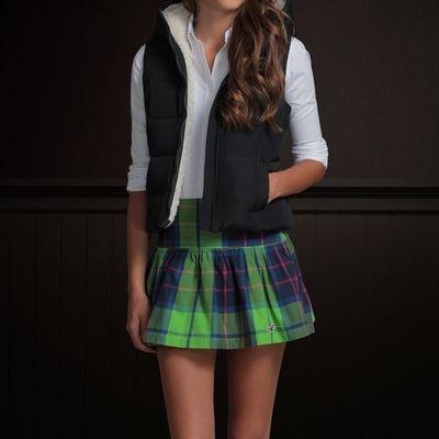 【HOLLISTER Co.】女裝 現貨 內裡鋪毛背心外套(深藍)