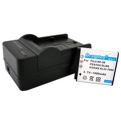 電池王 Fujifilm NP-50 高容量鋰電池+充電器組