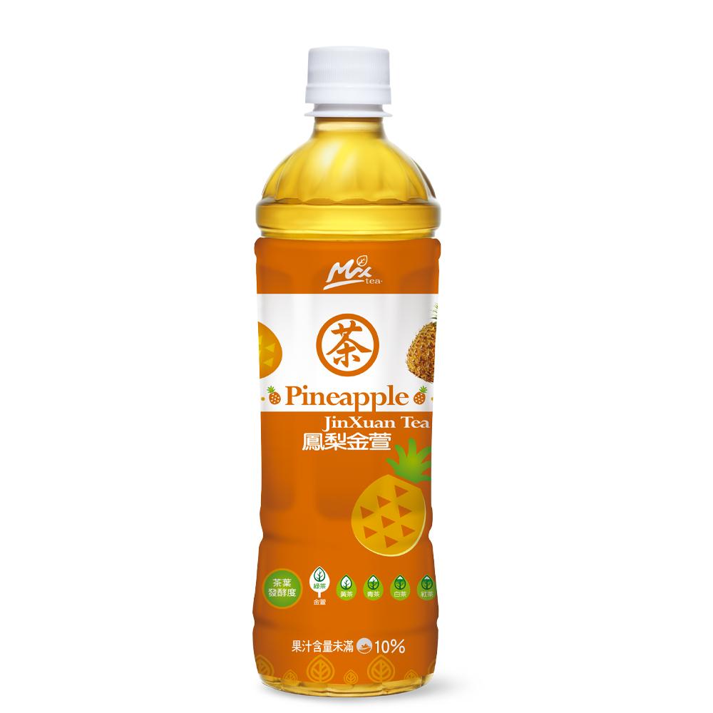 悅氏 鳳梨金萱茶(550mlx24入)