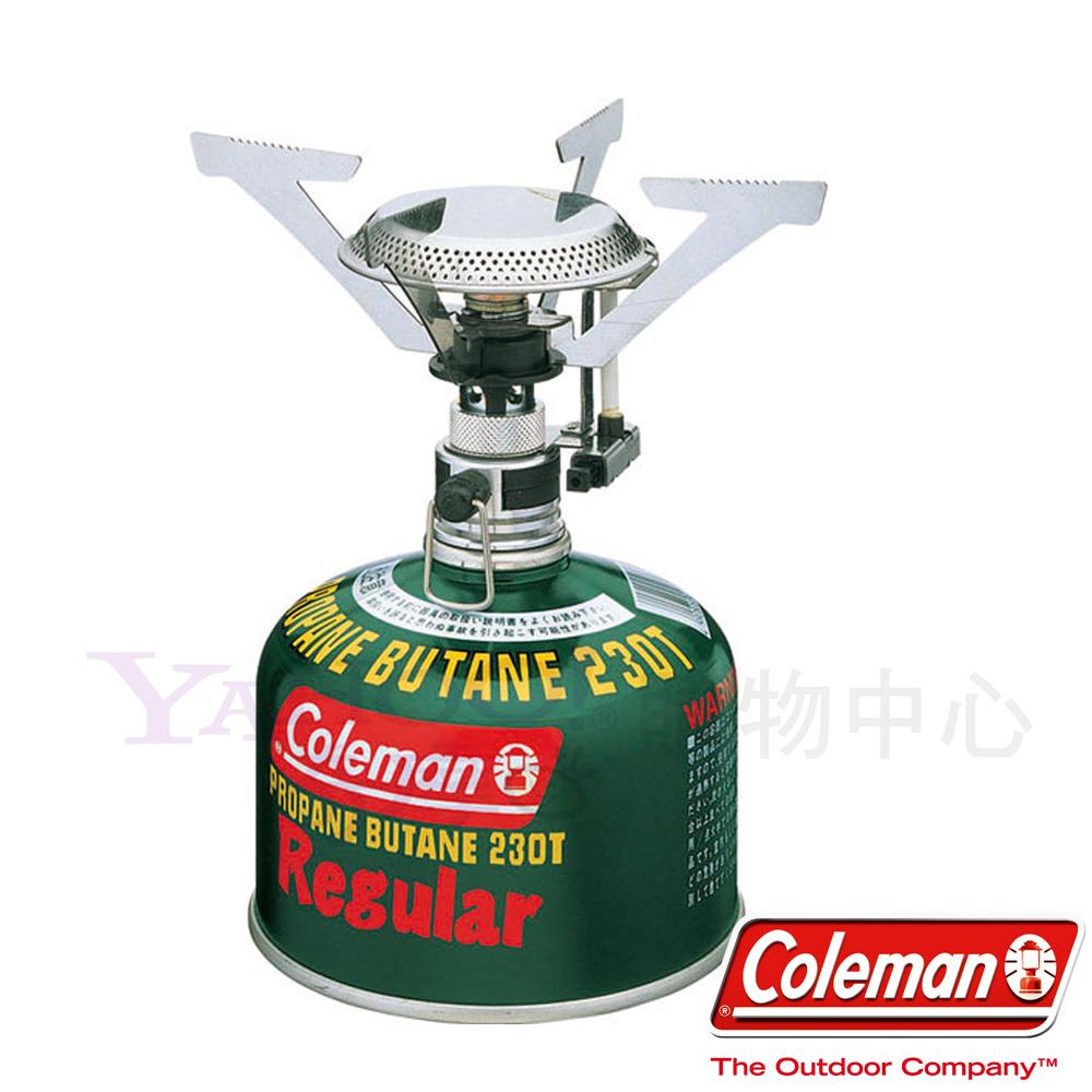 Coleman 0106 F-1強力瓦斯爐(附收納袋) 電子點火露營爐/登山爐 公司貨