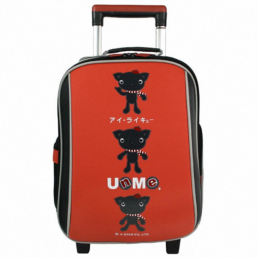【UNME】格層防雨套款(紅色)_拉桿式書包系列