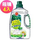 泡舒 洗潔精 綠茶去油除腥-2800gx4瓶