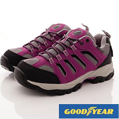 GOODYEAR-郊山徒步戶外鞋-SE2597玫紅(女段)