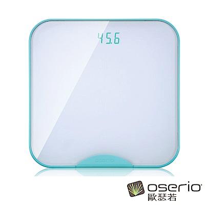 oserio歐瑟若 無線智慧體重計(極光綠BTG-365G)