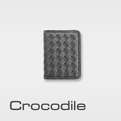 Crocodile Knitting系列軟皮名片夾 0103-6006