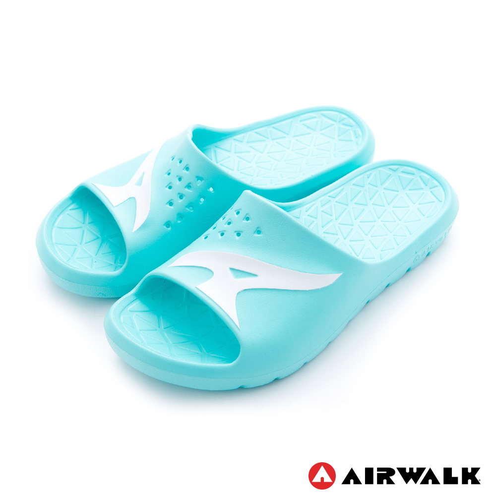 【AIRWALK】舒適柔軟輕盈AirJump拖鞋-淺綠
