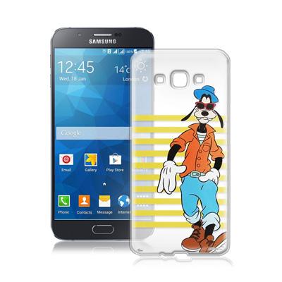 迪士尼Samsung Galaxy A8 A800YZ街頭透明軟式手機殼(帥氣高...