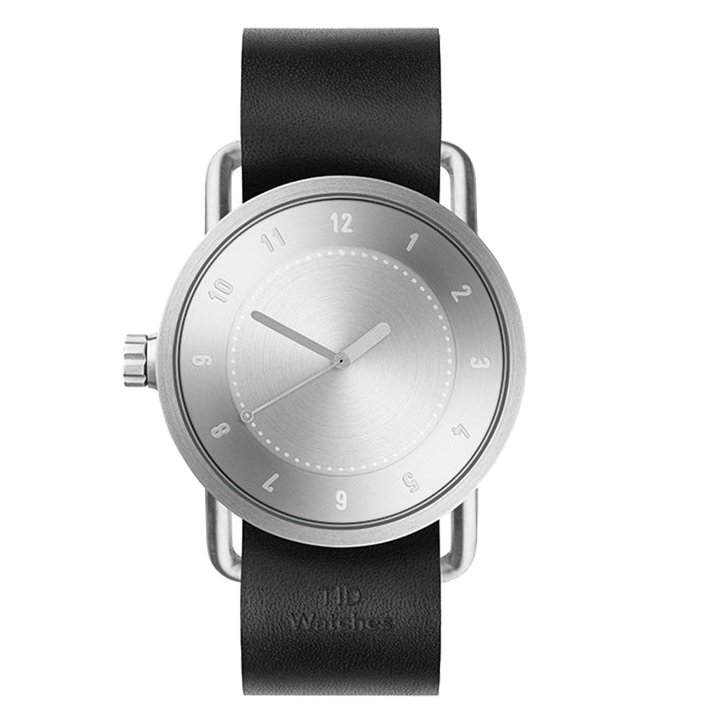 TID Watches No.1 TID-N1-40-BW-銀X黑錶帶/40mm