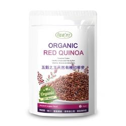 樸優樂活 五穀之王天然有機紅藜麥(400g/包)