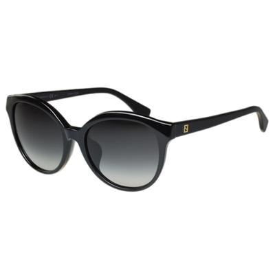 FENDI 時尚太陽眼鏡 (黑色)FF0045FS