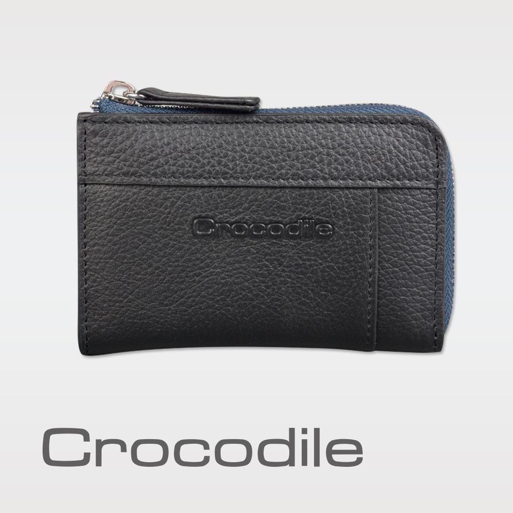 Crocodile 荔紋系列 Easy 輕巧L拉鍊零錢包 0103-08004