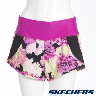 SKECHERS-女短褲-LWSH07PKMT