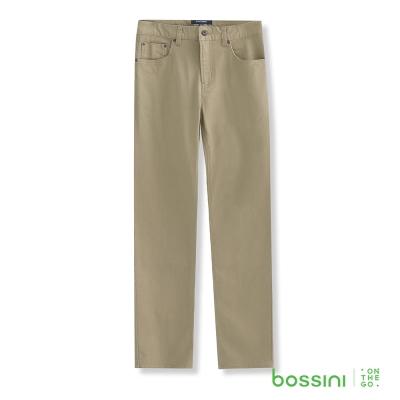 bossini男裝-修身卡其長褲02卡其