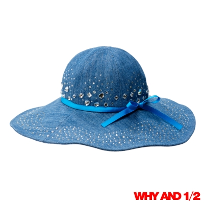WHY AND 1/2 兒童帽 牛仔遮陽帽