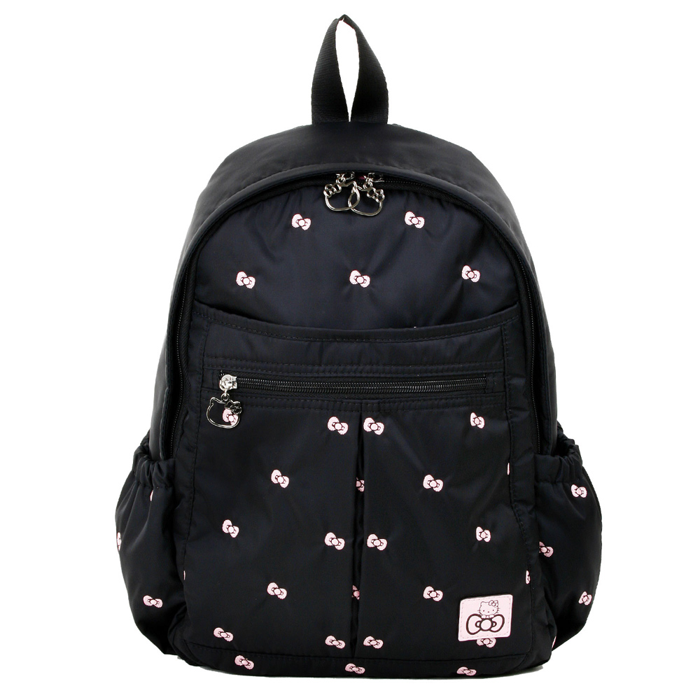 Hello Kitty 逸緻之旅後背包-黑KT00B04BK