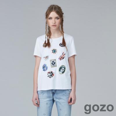 gozo龐克宣言標誌短T(三色)-動態show