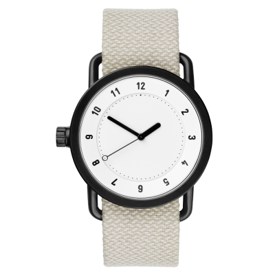 TID Watches No.1 White 白x淺灰/40mm