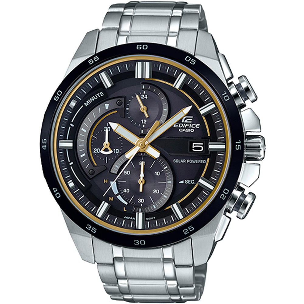 EDIFICE急速賽車計時腕錶(EQS-600DB-1A9)-49mm