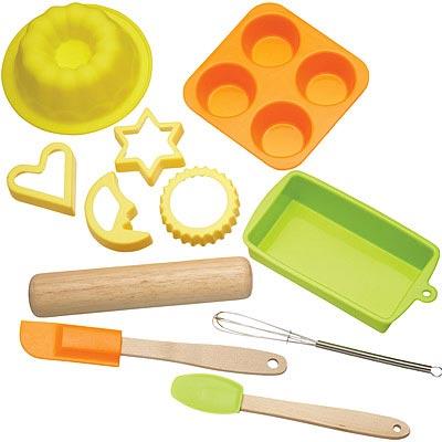KitchenCraft 兒童烘焙工具模具11件
