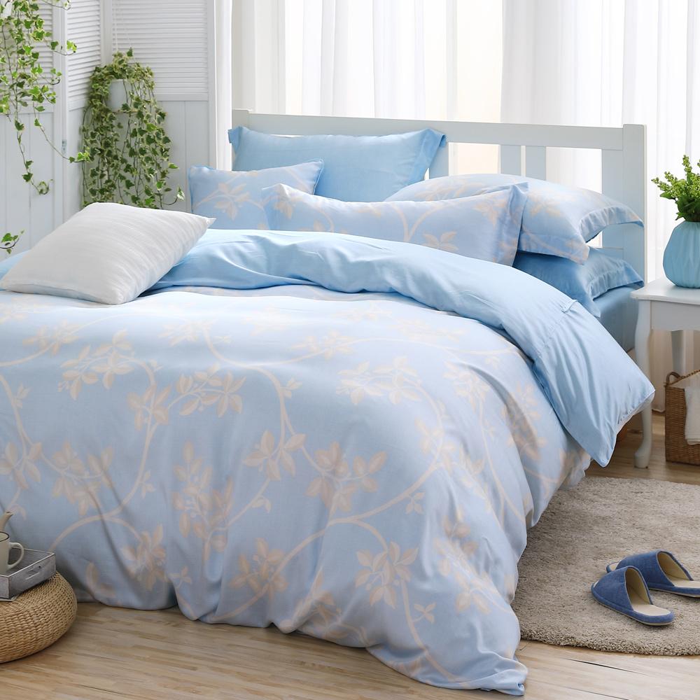 MONTAGUT 清雅莊園 300織紗天絲兩用被床包組 加大