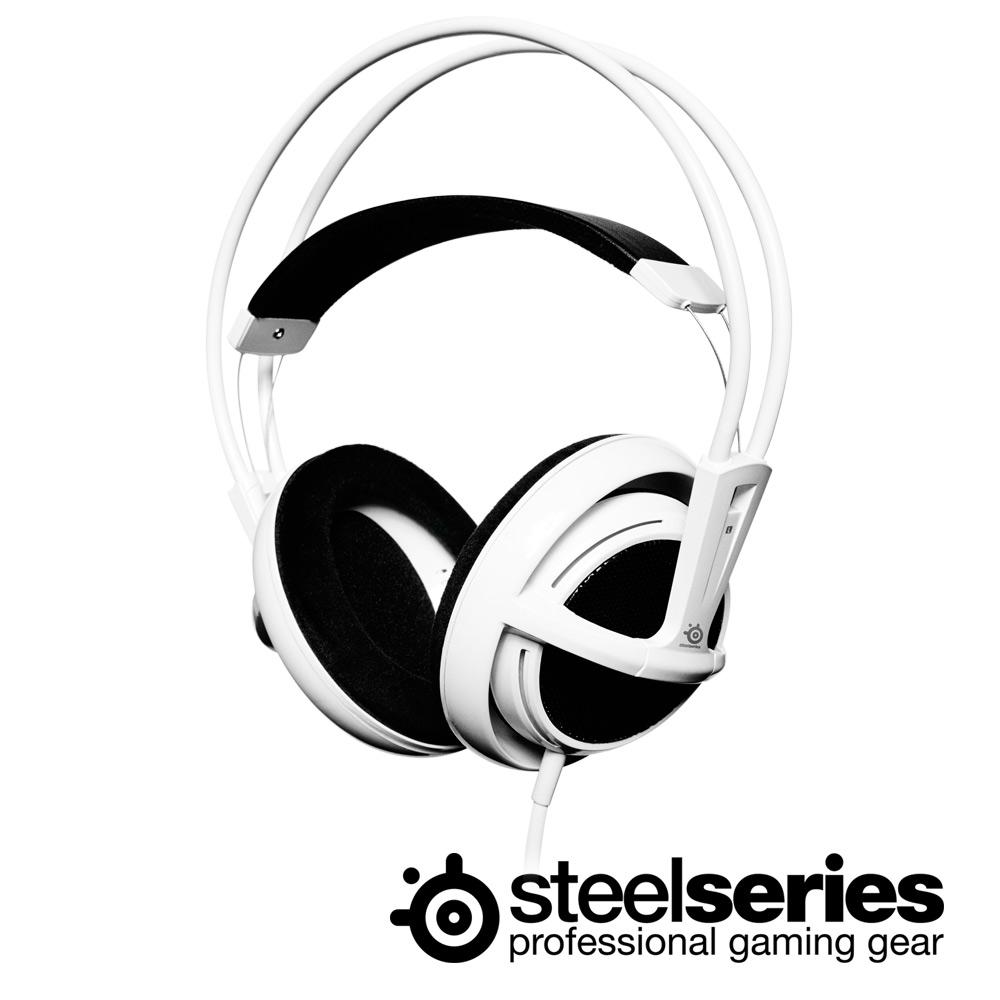 ★SteelSeries Siberia V1 頭戴式全罩耳麥(無瑕白)