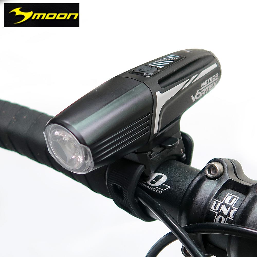 【MOON】METEOR VORTEX 600流明8模式白光LED自行車前燈