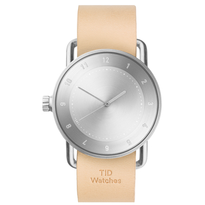 TID Watches No.2-經典天然原色x真皮錶帶/40mm
