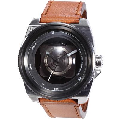TACS vintage-lens復古相機系列-淺咖/50mm