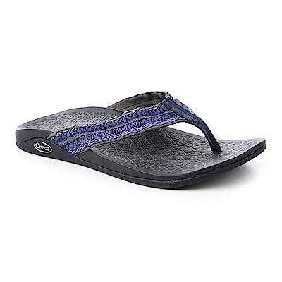 美國Chaco。男 夾腳拖鞋CH-WCM01HD30(反織藍)