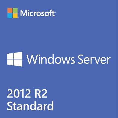 中文微軟伺服器Win Server 2012 R2標準2CPU/2VM隨機版