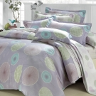 MONTAGUT-夢想蒲公英-精梳棉-特大四件式薄被套床包組