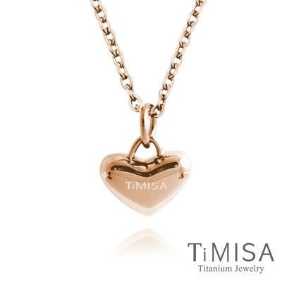 TiMISA《鈦真心》純鈦項鍊(雙色可選)