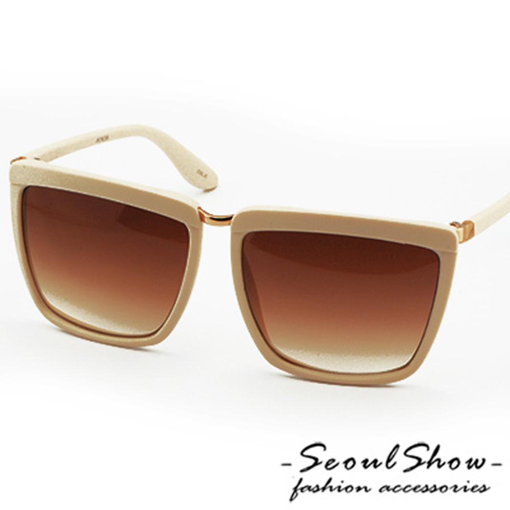 【Seoul Show】時尚大道 漸層色調太陽眼鏡 (2012 霧面象牙)