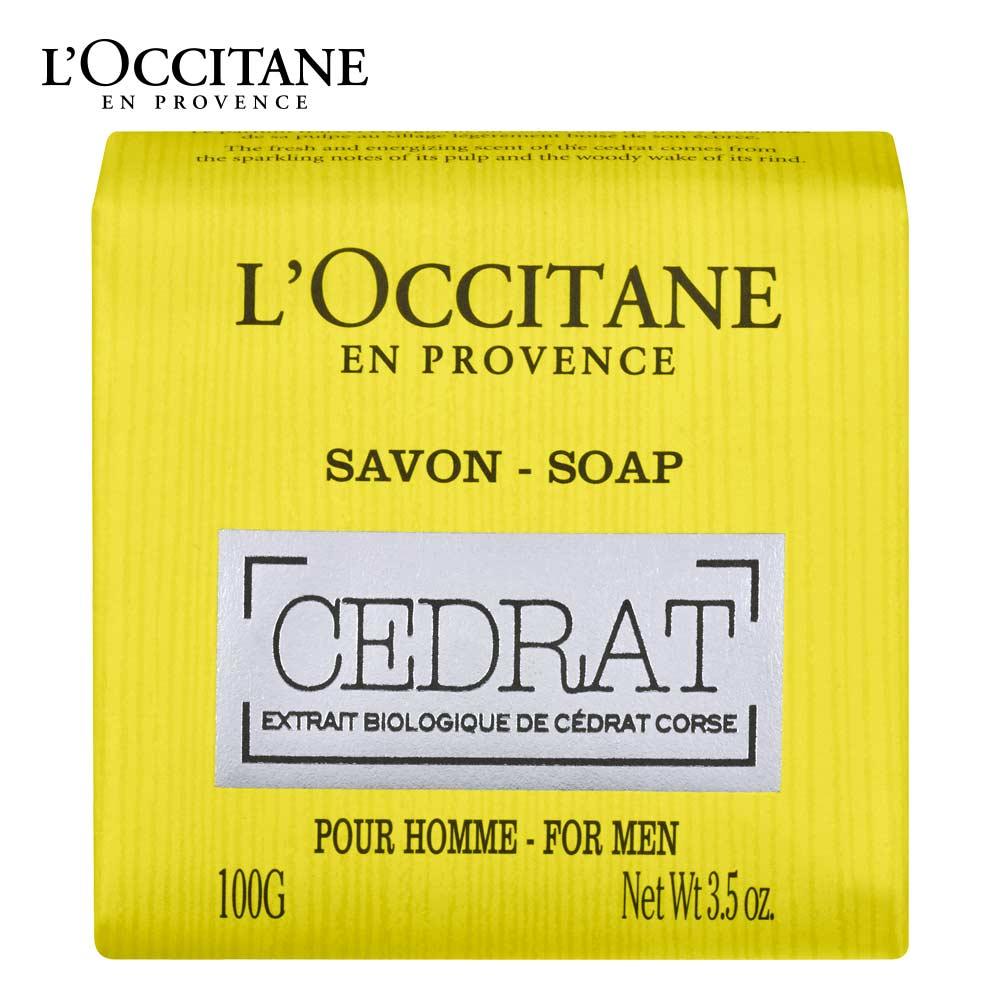 L'OCCITANE 歐舒丹 枸櫞沐浴皂 100g