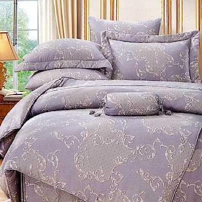 Saint Rose 艾曼妮 加大100%純天絲兩用被套床包四件組