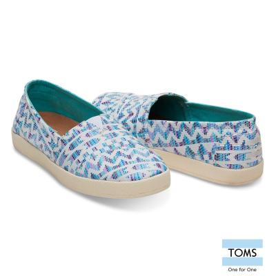 TOMS 編織紋休閒鞋-女款