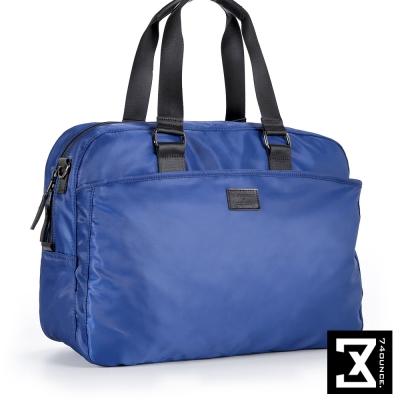 74盎司 尼龍中性手提側背包(大)[TG-204]藍