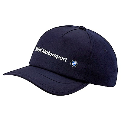 PUMA-男女BMW系列棒球帽-車隊藍