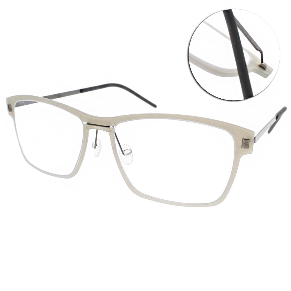 MARKUS T眼鏡 無螺絲眼鏡結構/灰-銀#M1 066 510-335
