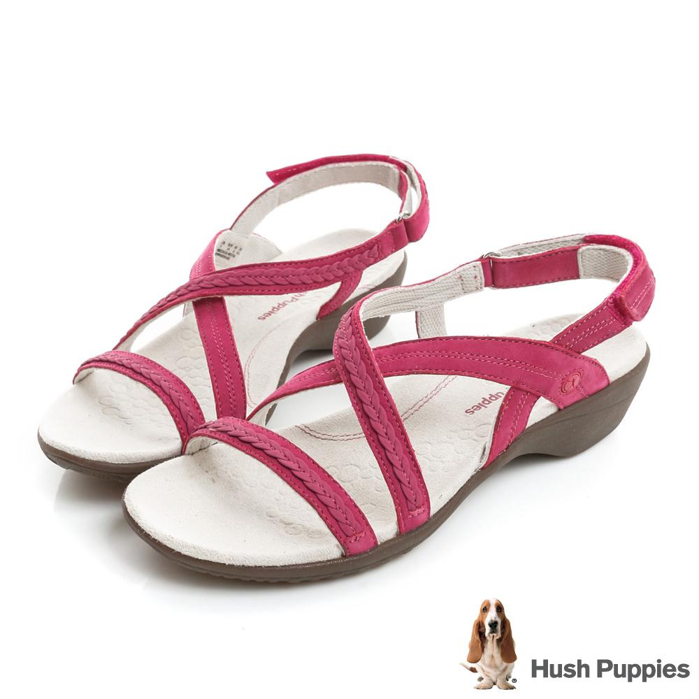 Hush Puppies THEIA 機能健走涼鞋-桃紅色