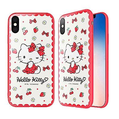 iStyle iPhone X Hello Kitty 小清新手機殼
