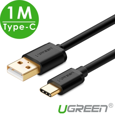 綠聯 USB Type-C手機傳輸線- 1M