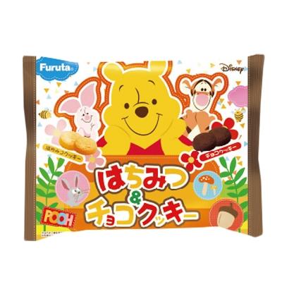 Furuta古田 小熊維尼蜂蜜&巧克力餅乾(120g)