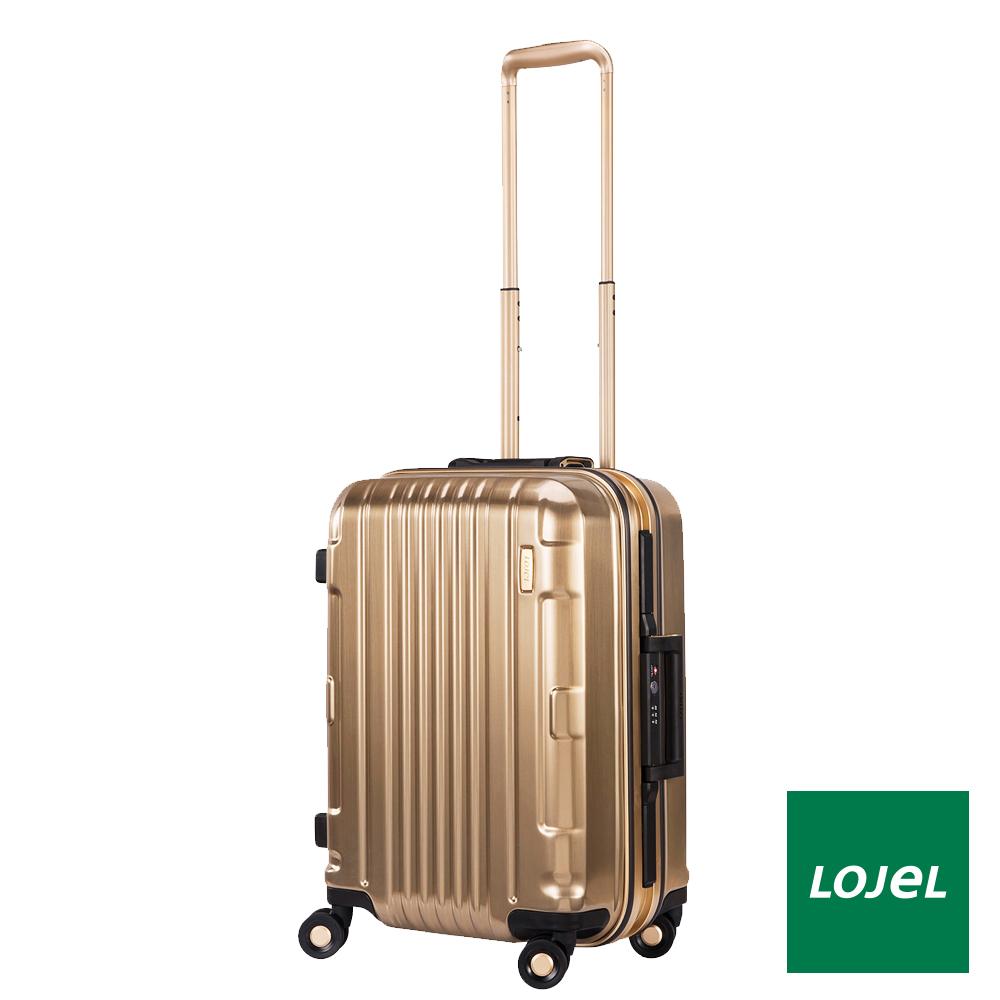 LOJEL 21吋鎂合金PC複合輕量行李箱 - 黃金鎂合金