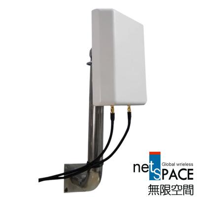 無限空間Wi-Fi戶外型2.4 GHz指向性高增益天線WOA-2621D